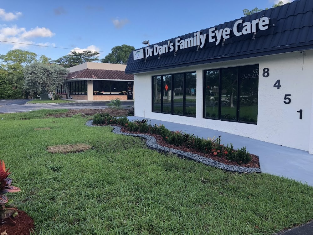 Dr Dan's Family Eye Care Team Eye Dr FL Panthers iGYM Spectacles