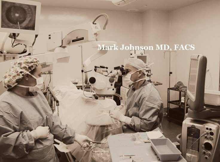 Mark Johnson MD. Medical, laser, and surgical Eye & Vision Care