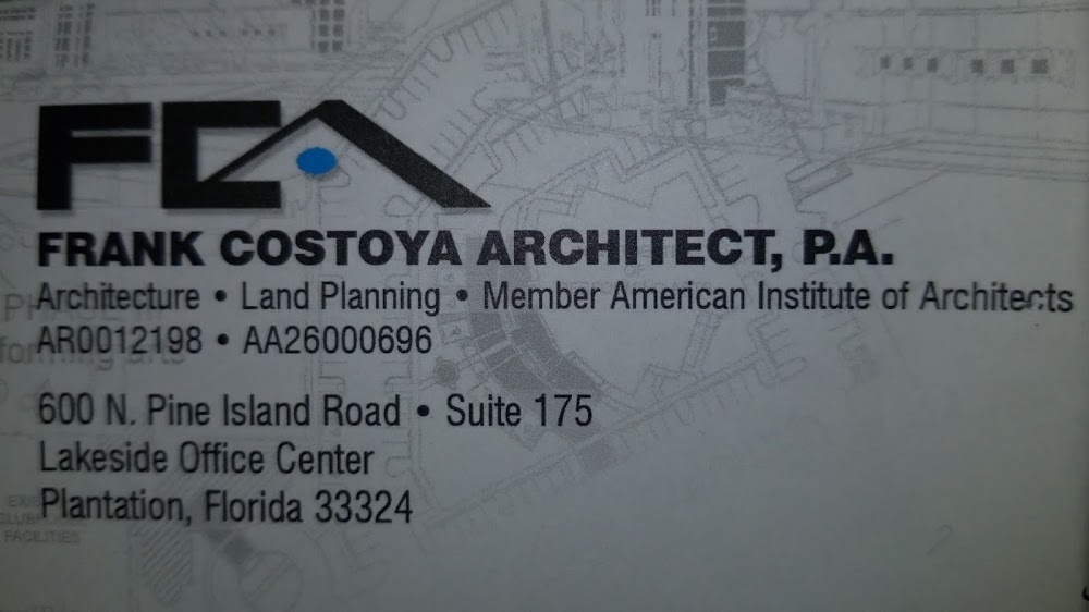Frank Costoya Architect, P.A.