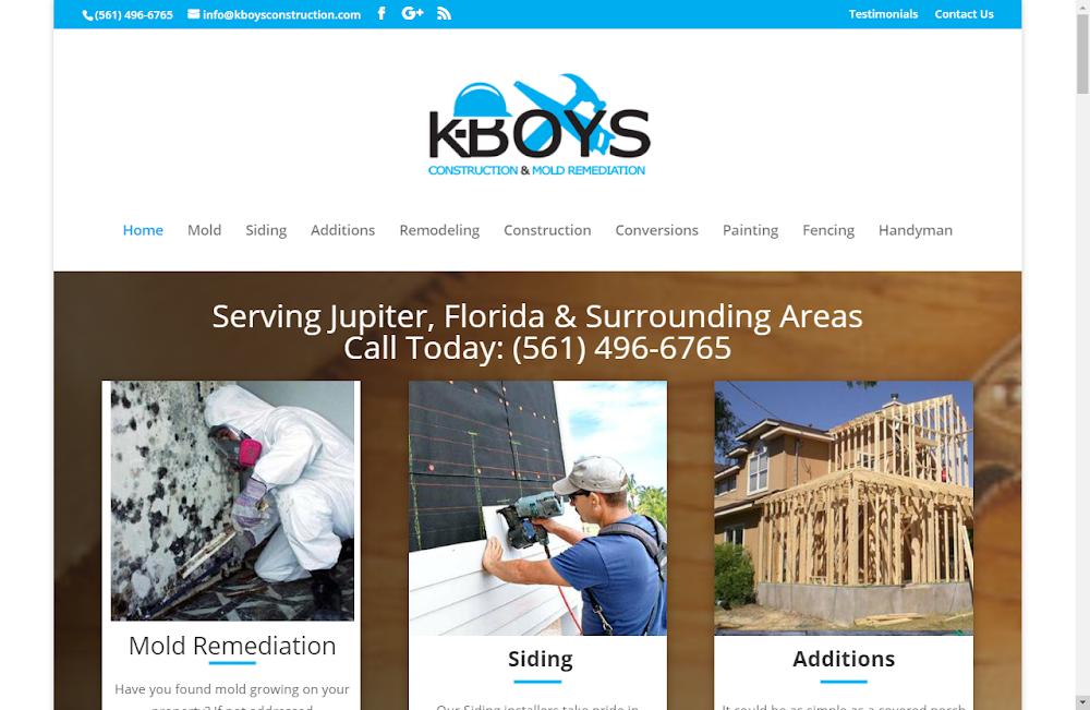 K-Boys Construction & Mold Remediation