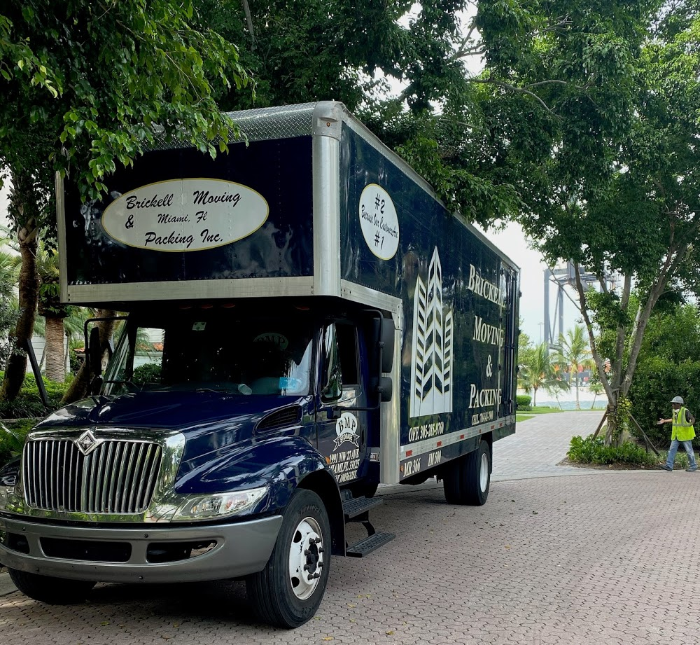 Brickell Moving & Packing Inc