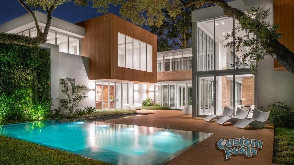 Custom Pools – Pool Contractors Miami
