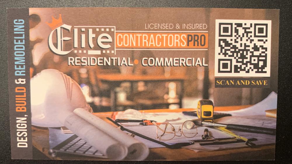 ELITE CONTRACTORS PRO-General Construction & Remodeling Company-Home Improvement Company